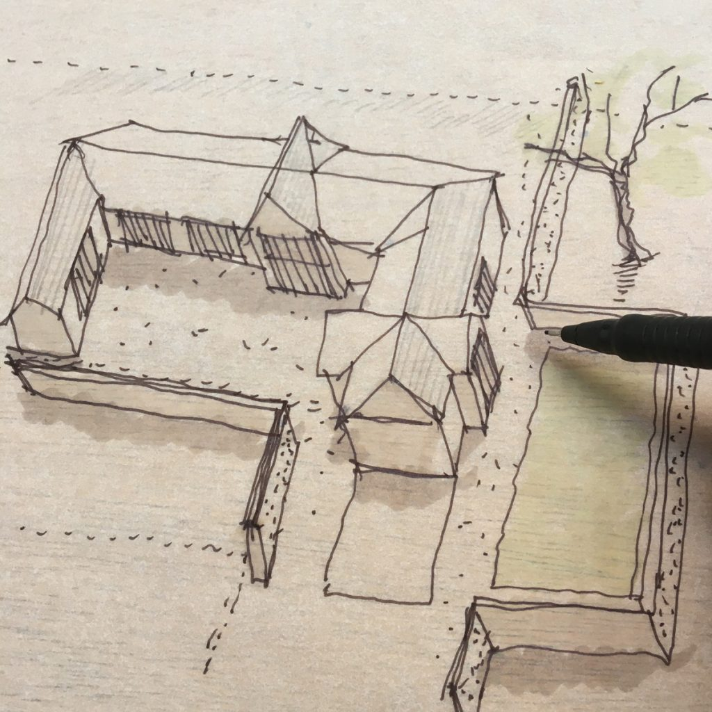 Exploratory sketch